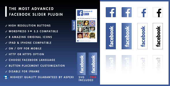 Aspexi Facebook Like Box Slider HD